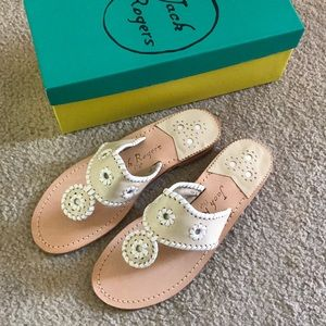 Jack Rogers Leather Sandals
